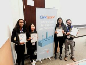 Civic Sparks winners