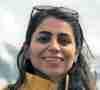 Doctoral student Ghanimat Azhari