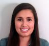 Masters student Olivia Carpano