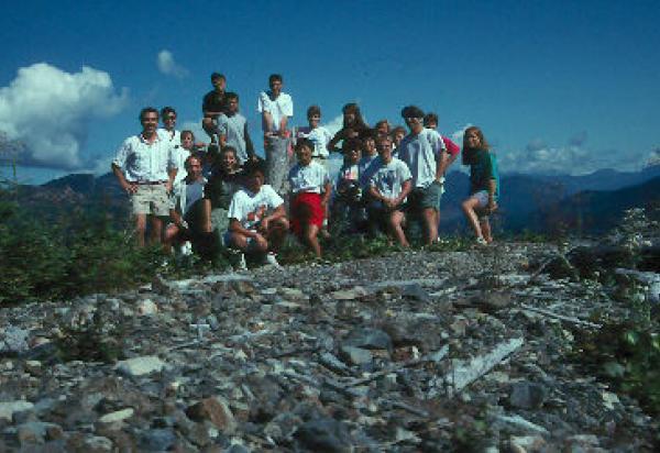 Class group hillside