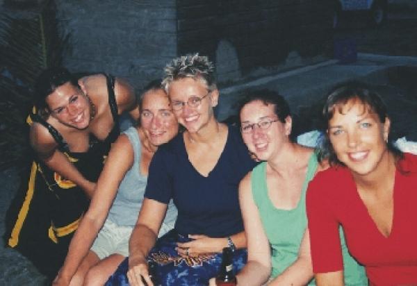 5 female students
