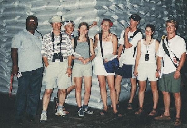 Group shot with Lorne Bennett